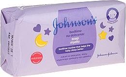 """Parfumuri și produse cosmetice Săpun pentru copii """"Înainte de som"""" - Johnson's Baby"""