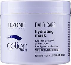 Parfumuri și produse cosmetice Mască hidratantă pentru îngrijire zilnică - H.Zone Option Daily Care Hydrating Mask