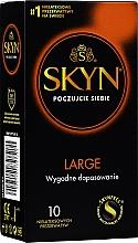 Parfumuri și produse cosmetice Prezervative, 10 buc - Unimil Skyn Large