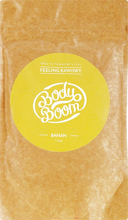 Scrub de cafea - BodyBoom Coffee Scrub Banana — Imagine N1