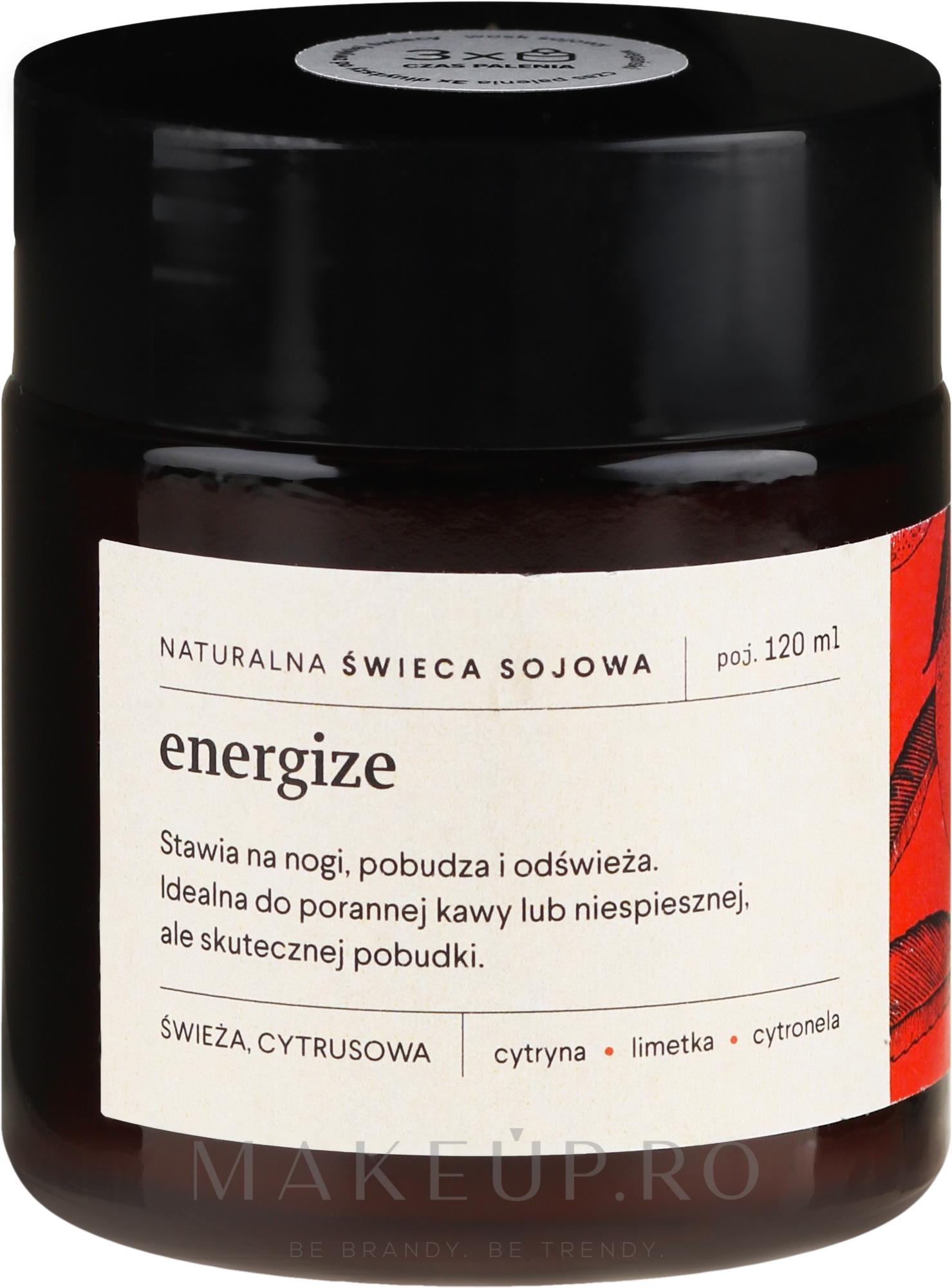 Lumânare parfumată - Mood Ideas Energize Candle — Imagine 120 ml