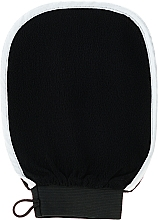 Parfumuri și produse cosmetice Mănușă pentru curățare și masaj corporal, neagră - Efas Luxury