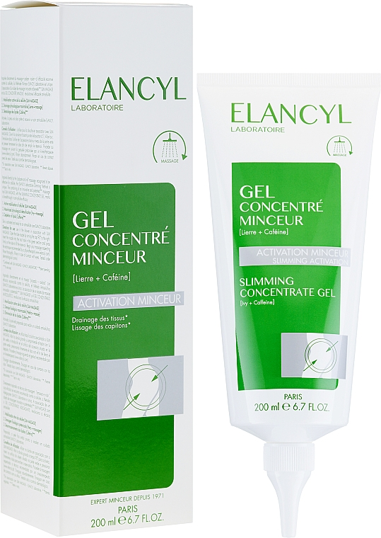 Gel-concentrat pentru slăbire - Elancyl Slimming Concentrate Gel Slimming Activation — Imagine N1