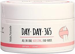 Parfumuri și produse cosmetice Pad-uri cu acizi pentru curățarea facială - Wish Formula Day Day 365 All in One Boosting Pad Mask