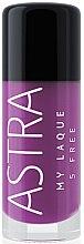 Parfumuri și produse cosmetice Lac de unghii - Astra Make-up My Laque 5 Free