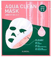 Parfumuri și produse cosmetice Mască de bioceluloză - Elroel Aqua Clean Mask