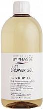Parfumuri și produse cosmetice Gel de duș pentru pielea uscată și foarte uscată - Byphasse Back To Basics Just Shower Gel Dry And Very Dry Skin