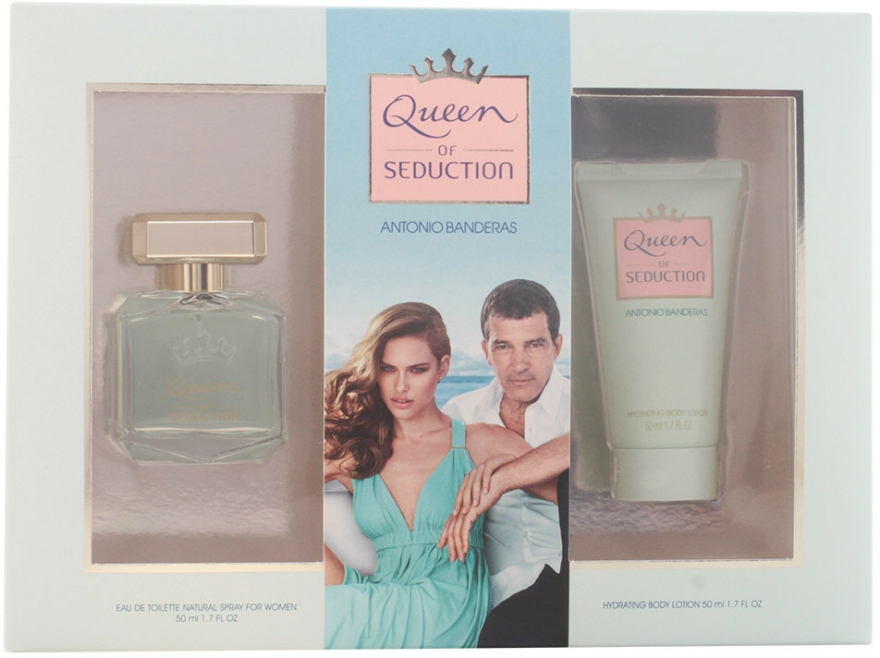 Antonio Banderas Queen of Seduction - Set (edt 50ml + b/l 50ml) — Imagine N1