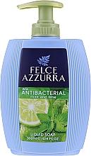 Parfumuri și produse cosmetice Săpun lichid - Felce Azzurra Antibacterico Mint & Lime