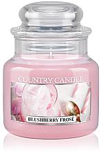 Parfumuri și produse cosmetice Lumânare aromată (borcan) - Country Candle Blushberry Frose