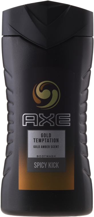"Gel de duș ""Ispita aurului"" - Axe Gold Temptation Shower Gel — Imagine N2"