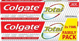 Parfumuri și produse cosmetice Pastă de dinți - Colgate Total Original Toothpaste Duopack