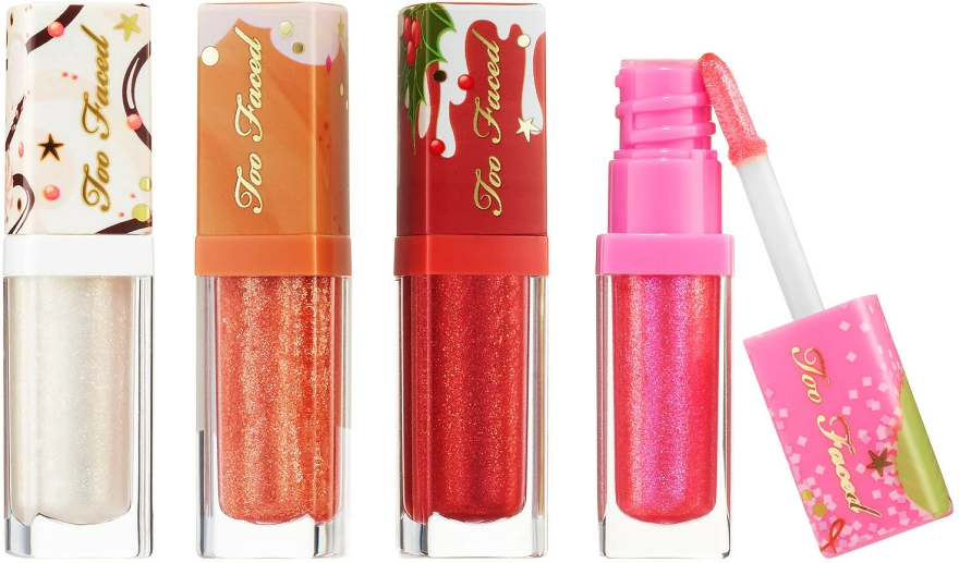 Set - Too Faced Better Not Pout But If You Do Keep It Glossy (4x/0.12ml) — Imagine N2