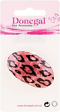 Parfumuri și produse cosmetice Elastic de păr, 5375, roz-leopard - Donegal