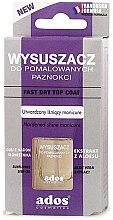 Parfumuri și produse cosmetice Uscător pentru unghiile vopsite - Ados Fast Dry Top Coat