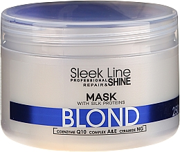 Parfumuri și produse cosmetice Mască de păr - Stapiz Sleek Line Blond Hair Mask