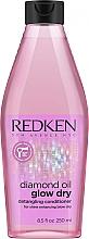 Parfumuri și produse cosmetice Balsam pentru păr - Redken Diamond Oil Glow Dry Conditioner