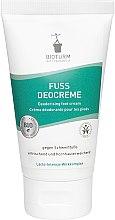 Parfumuri și produse cosmetice Cremă dezodorizantă pentru picioare - Bioturm Deodorant Cream for Feet Nr.80