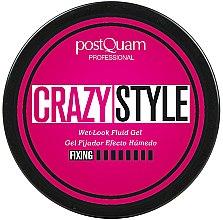 Parfumuri și produse cosmetice Gel de păr - PostQuam Extraordinhair Crazy Style Wet Look Fluid Gel