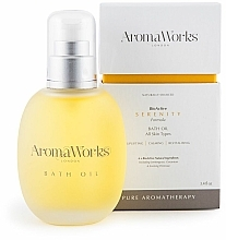 Parfumuri și produse cosmetice Ulei de baie - AromaWorks Serenity Bath Oil