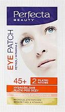 Parfumuri și produse cosmetice Patch-uri Hydrogel Sub Ochi - DAX Perfecta Eye Patch 45+