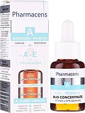 Parfumuri și produse cosmetice Concentrat cu vitamine A și E pentru față - Pharmaceris A A&E Sensilix Duo Concentrate