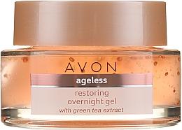 Parfumuri și produse cosmetice Gel de noapte pentru față - Avon True Nutra Effects Ageless Overnight Gel