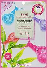 Parfumuri și produse cosmetice Mască 3D cu mucină de melc pentru față - Beauugreen Contour 3d Snail Essence Mask