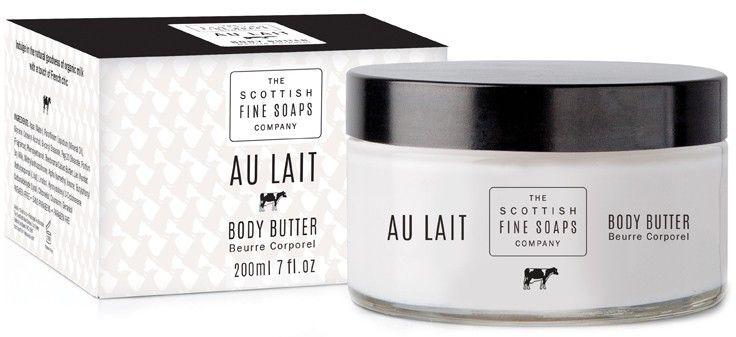 Cremă-Unt pentru corp - Scottish Fine Soaps Au Lait Body Butter — Imagine N1