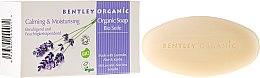 """Parfumuri și produse cosmetice Săpun """"Hidratare și Relaxare"""" - Bentley Organic Body Care Calming & Moisturising Soap Bar"""