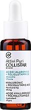 Parfumuri și produse cosmetice Concentrat hidratant cu acid hialuronic și acid poliglutamic pentru față - Collistar Hyaluronic + Polyglutamic Acid Moisturizing Lifting (tester)