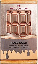 Paletă fard de pleoape, 8 nuanțe - I Heart Revolution Mini Eyeshadow Palette — Imagine N2