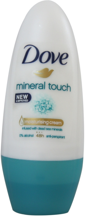 Deodorant roll-on - Dove Mineral Touch Deodorant Roll-On