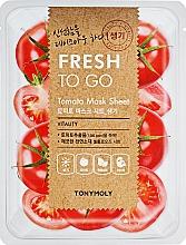 Parfumuri și produse cosmetice Mască de țesut cu extract de roșii - Tony Moly Fresh To Go Mask Sheet Tomato