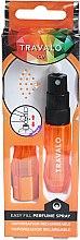 Parfumuri și produse cosmetice Atomizor - Travalo Ice Orange Refillable Spray