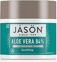 Parfumuri și produse cosmetice Cremă hidratantă pentru față și corp, cu aloe vera - Jason Natural Cosmetics Soothing Aloe Vera Moisturizing Cream