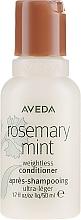 Parfumuri și produse cosmetice Balsam cu mentă și rozmarin - Aveda Rosemary Mint Weightless Conditioner