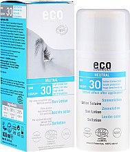 Parfumuri și produse cosmetice Soluție de protecție solară fără aromă - Eco Cosmetics Sun Lotion SPF 30