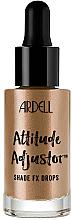 Parfumuri și produse cosmetice Iluminator lichid pentru față - Ardell Attitude Adjustor Shade FX Drops
