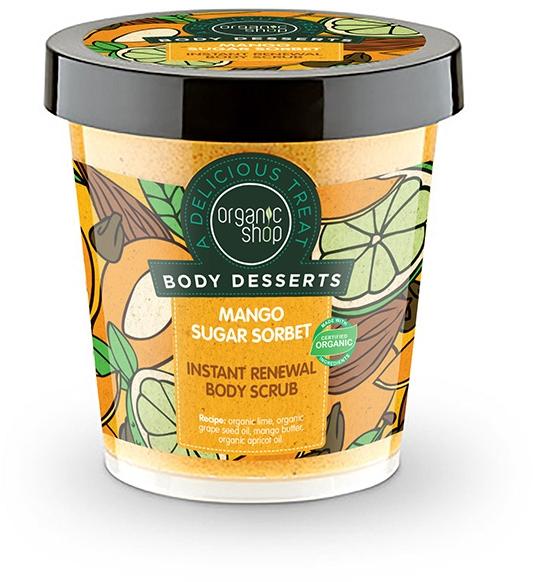 Scrub de corp antioxidant - Organic Shop Body Desserts Mango Sugar Sorbet