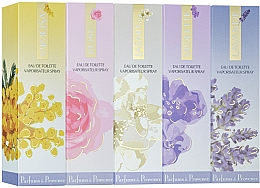 Parfumuri și produse cosmetice Charrier Parfums Parfums De Provence - Set (edt/30ml + edt/30ml + edt/30ml + edt/30ml + edt/30ml)