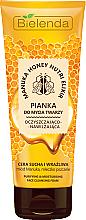 Parfumuri și produse cosmetice Spumă de curățare pentru față - Bielenda Manuka Honey Nutri Elixir Facial Foam