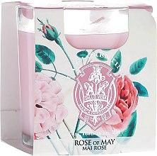 "Parfumuri și produse cosmetice Lumânare aromatică ""Trandafir"" - La Florentina Rose Of May Scented Candle"