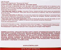 Cremă intensiv regeneratoare pentru corp - Clarins Extra-Firming Body Cream — Imagine N3
