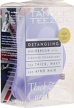 Parfumuri și produse cosmetice Pieptene pentru păr des și cret, liliac - Tangle Teezer Detangling Thick & Curly Lilac Fondant