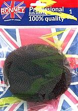 Parfumuri și produse cosmetice Burete pentru coc, maro - Ronney Professional Bun Maker