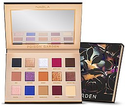 Parfumuri și produse cosmetice Paletă de nuanțe cu farduri de ochi - Nabla Poison Garden