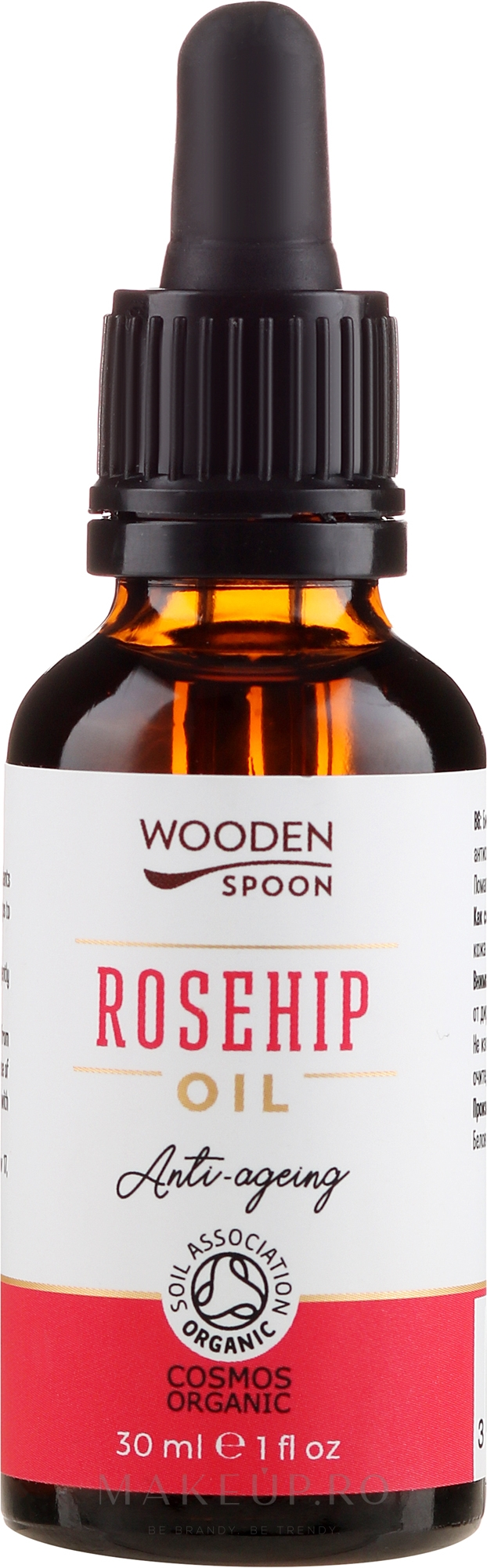 Ulei de trandafir - Wooden Spoon Rosehip Oil — Imagine 30 ml
