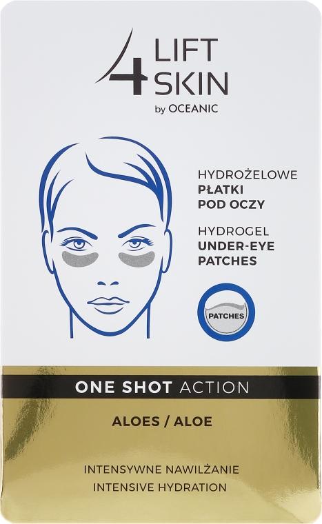 Patch-uri sub ochi - AA Cosmetics Lift 4 Skin Hydrogel Under-Eye Patches Aloe — Imagine N1