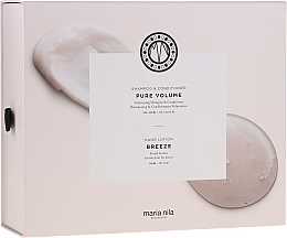 Parfumuri și produse cosmetice Set - Maria Nila Pure Volume Presentbox (sh/350ml+cond/300ml+h/soap/300ml)